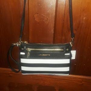 Convertible Liz Claiborne stripped purse